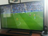Sharp 46 inch 1080p freeview hd plus a sony dvd player