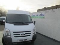 2011 ford transit 350 trend model uk van one company owner f/s/h buy from £45.50 week belfast derry