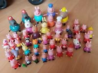 Huge bundle of Peppa Pig toys in excellant condition