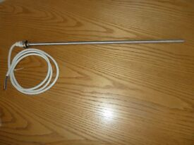Brand new, unopened electric heating element for towel radiator