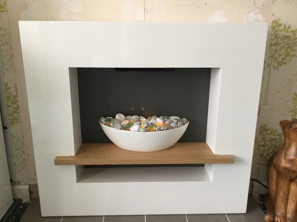 Next Cube Shelf Vessel Suite Fireplace In Solihull West