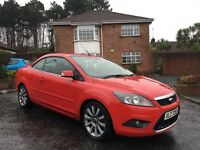 2008 FORD FOCUS CC-2 2.0 DIESEL ** CONVERTIBLE ** FULL HISTORY ** FINANCE AVAILABLE