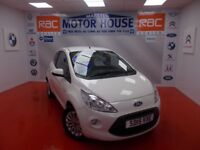 Ford KA ZETEC(£30.00 ROAD TAX) FREE MOT'S AS LONG AS YOU OWN THE CAR!!! (white) 2015