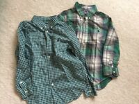 2 x Boy's Aged 5/6 Ralph Lauren Shirts - Used But in Great Condition (Collect Swanwick Marina)