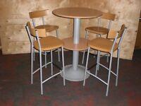 Poser Table & Bar Stools