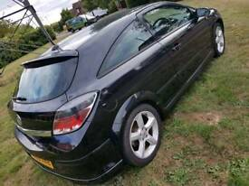 Vauxhall Astra Black 1.6 06 SXI 3Dr