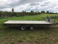 Ifor Williams lm166 car trailer