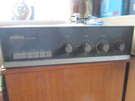 Amplifier Revox valve stereo, mod. 40, Swiss made, working order