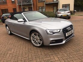 Audi A5 Cabriolet S line Special Edition Plus 2.0 TDI 177 PS 2dr
