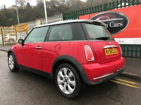 2006 (06 reg) MINI Hatch 1.6 Cooper 3dr Hatchback Petrol 5 Speed Manual