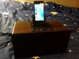 iWantit iPhone 5 6 7 dock station speaker sync charging Bluetooth