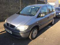 2004 Vauxhall Zafira Life 1.6 5G 100BHP 7 Seater