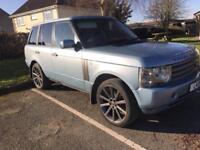 Range Rover L322 HSE 2002 rare icelandic blue 3L diesel automatic