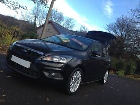 2009 09 REG FORD FOCUS ZETEC TITANIUM TDCI HATCH/LOW MILES ONLY 48000+ /S/HISTORY/LIKE ASTRA /GOLF