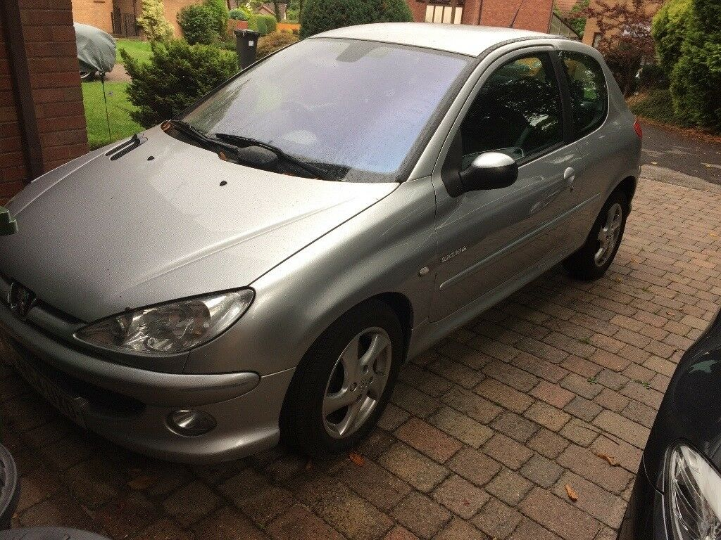 Peugeot 206 Quicksilver HDI 2004 Silver for quick sale battery flat clutch  faulty