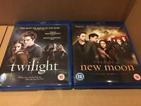 Twilight And New Moon Blu Rays