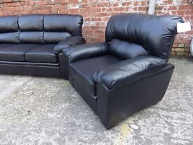 Black Leather Suite Boxed