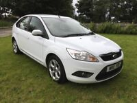 2011 Ford Focus diesel in gleaming white