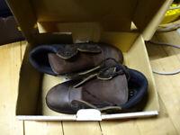 Pair of size 9 Progressive work boots