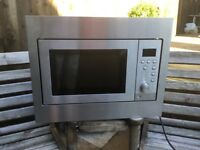 Built In Zanussi Microwave In Excellent Condition Can Deliver.