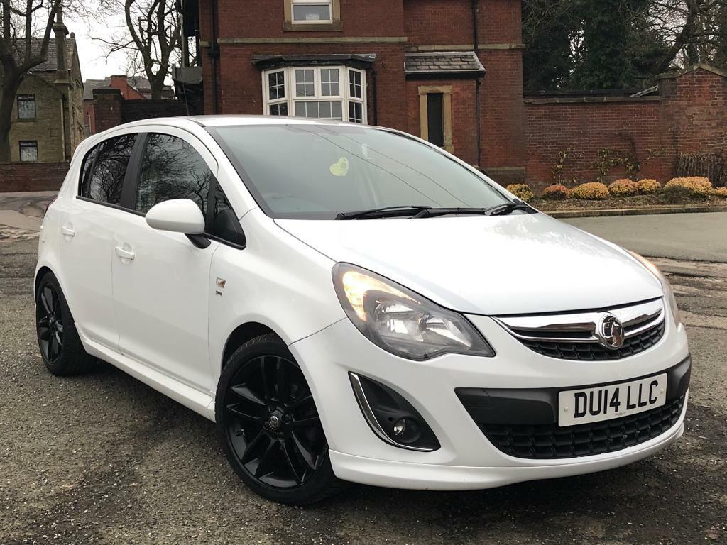 VAUXHALL CORSA SRI LIMITED EDITION 1.4 2014+WHITE+ONE OWNER+FULL HISTORY+IMMACULATE*PX