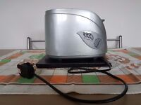 Silver toaster