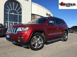 2013 Jeep Grand Cherokee HEATED FRONT SEATS/STEERING WHEEL/5/100