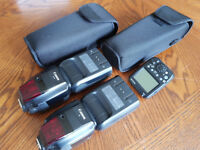 2 Canon 600 RT Flash and Yongnuo Transmitter