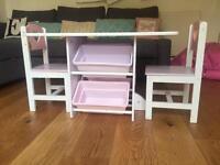 GLTC table with storage