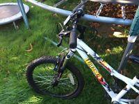 nearly new 18 inch boy's bike for sale