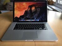 Apple MacBook Pro 15inch - Latest OS X Siera