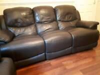 Genuine leather sofas