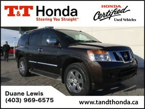 2014 Nissan Armada Platinum *New Tires, NAVI, DVD, No Accidents*