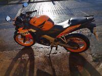 Honda cbr 125 long MOT 4300 MILES