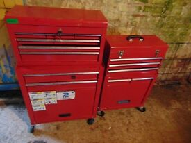 4 Red Toolboxes