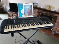 TECHNICS KEYBOARD SX-KN501 play as piano, varied rhythms, organ or with orchestra.