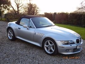 BMW Z3 3.0 litre convertible roadster with M sport finish
