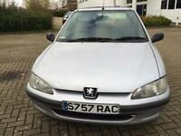Peugeot 106 1.5 Diesel Zest mot till end of jan low mileage drives well
