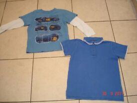 Boys Blue Tops