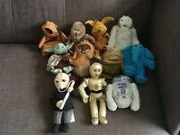 Star Wars Beanie Buddies 1997- Set of eleven. Good condition