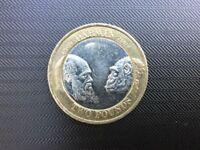2 Pound Coin 200th Birthday of Charles Darwin