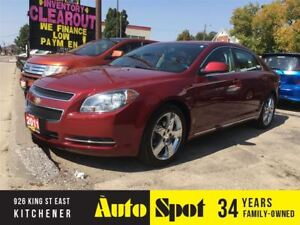 2011 Chevrolet Malibu LT Platinum Edition/LOW, LOW KMS/BEAUTIFUL