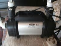 Iflo power shower pump good working order. hardly used as restructured heating system.