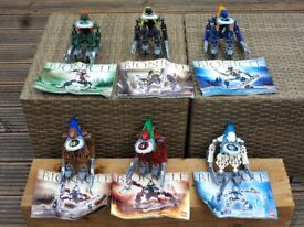 Lego Bionicles Vahki Set x6