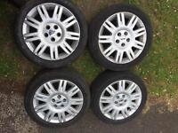 """Ford transit connect/mondeo alloy wheels 17"""""""