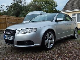 2007 AUDI A4 2.0 TDI 170 ONLY 66000 miles!!!!!