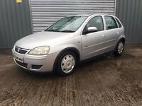 2005 VAUXHALL CORSA 1.2 DESIGN ***FULL YEARS MOT*** similar to fiesta clio punto polo micra ka yaris