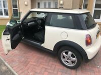 STUNNING MINI ONE. 2010(60), 86k mls, FSH, Excellent condition throughout. Job abroad forces sale.