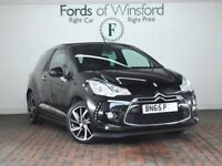 DS DS 3 1.6 Bluehdi Dstyle Nav 2dr [Free tax] (black) 2015