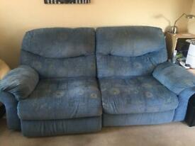 2/3 seater sofa electric recliner,